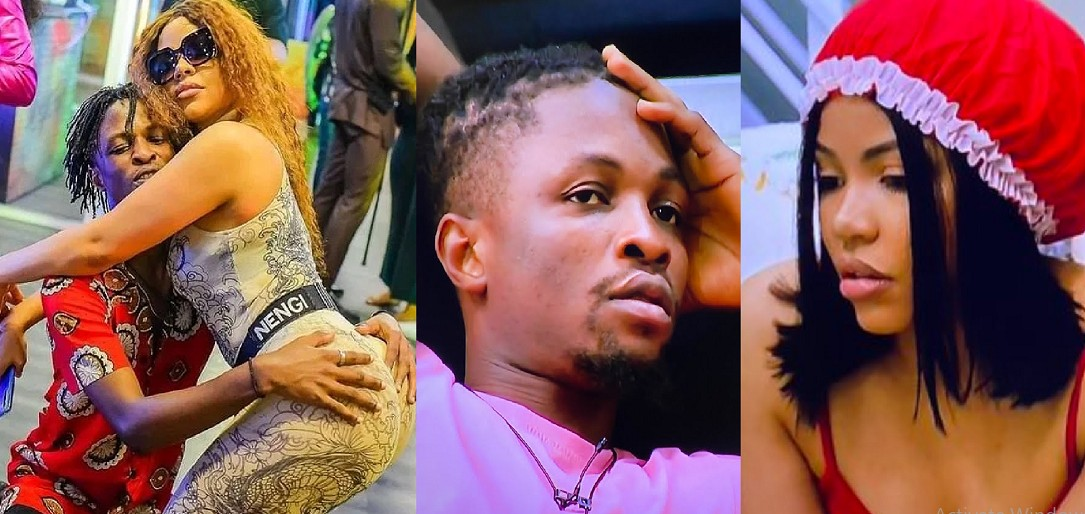 #BBNaija: I want to be like you – Nengi tells Laycon (video)