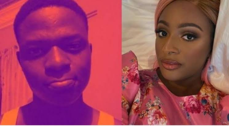 """""""I want to be your pant washer and I don't mind doing it for free"""" – Nigerian man writes DJ Cuppy"""