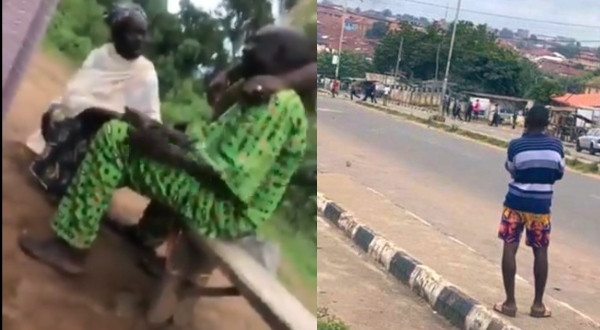 Video of Jimoh Isaiq's father weeping after his son was killed at #EndSARS protest in Oyo