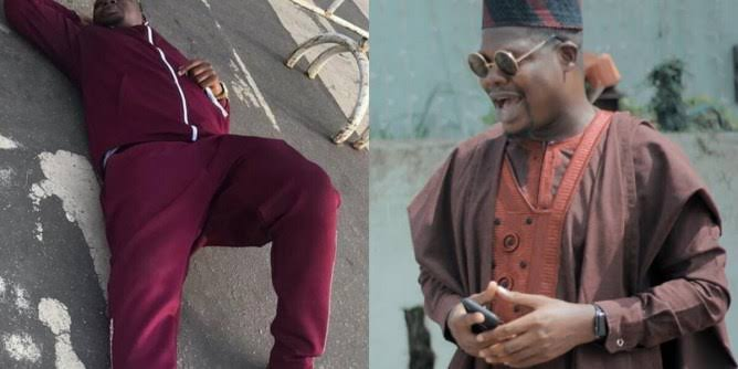 #EndSarsProtest: Comedian, Mr Macaroni Sleeps On Bare Floor With Other Protesters (Photos)