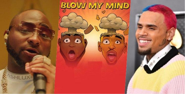 """""""Real Recognize Real"""" – Davido Brags As Chris Brown Picks His Song As One Of His Best"""