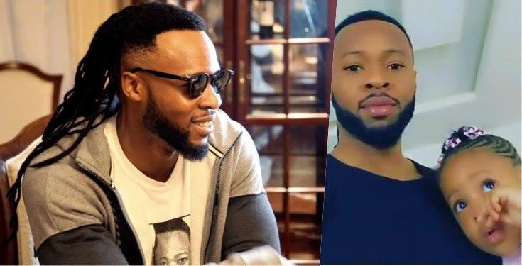 Flavour and his youngest daughter, Kaima releases video of their birthday celebrations  (Video)