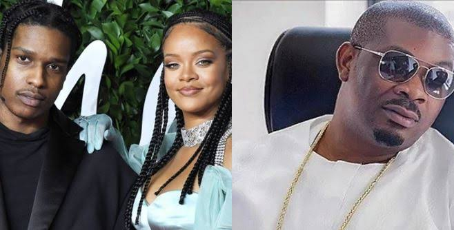 Don Jazzy's reaction To The reports that his long time crush, Rihanna is reportedly dating ASAP Rocky