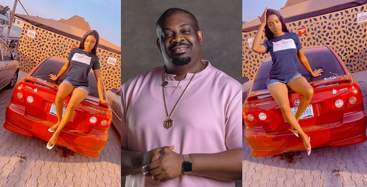 Don Jazzy reacts after clout chaser claimed on Twitter that he gifted her a car worth ₦5Million (Photos)