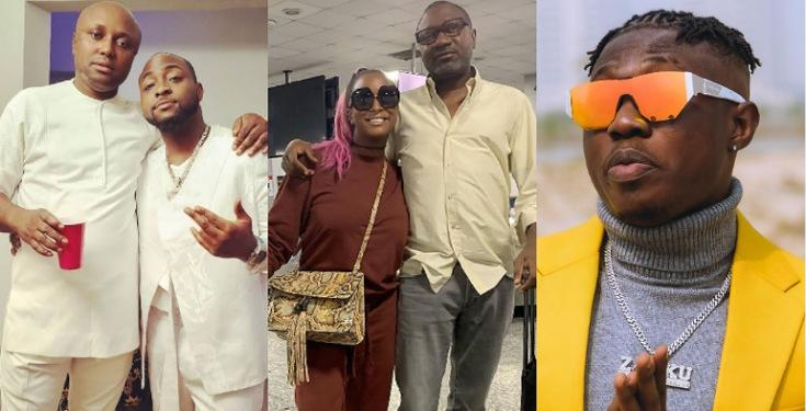 Davido's PA gives details on what happened between Cuppy and Zlatan (see details)