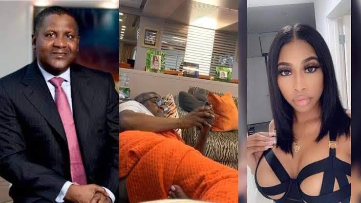 See as Dangote Sues American Side-chick Who Exposed His Buttocks On Social Media