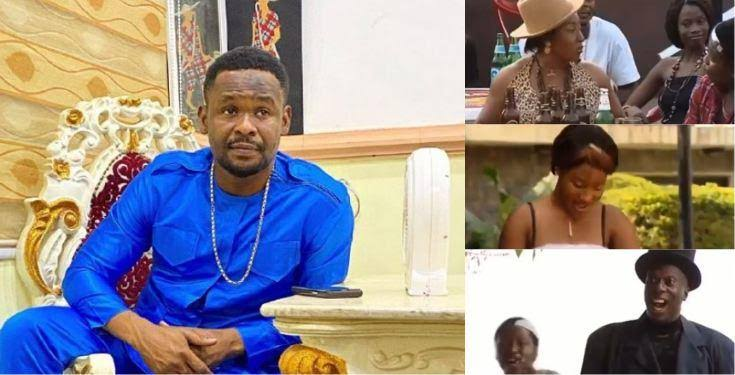 Zubby Michael shares throwback video of first appearance in Nollywood with Tonto Dikeh, and others