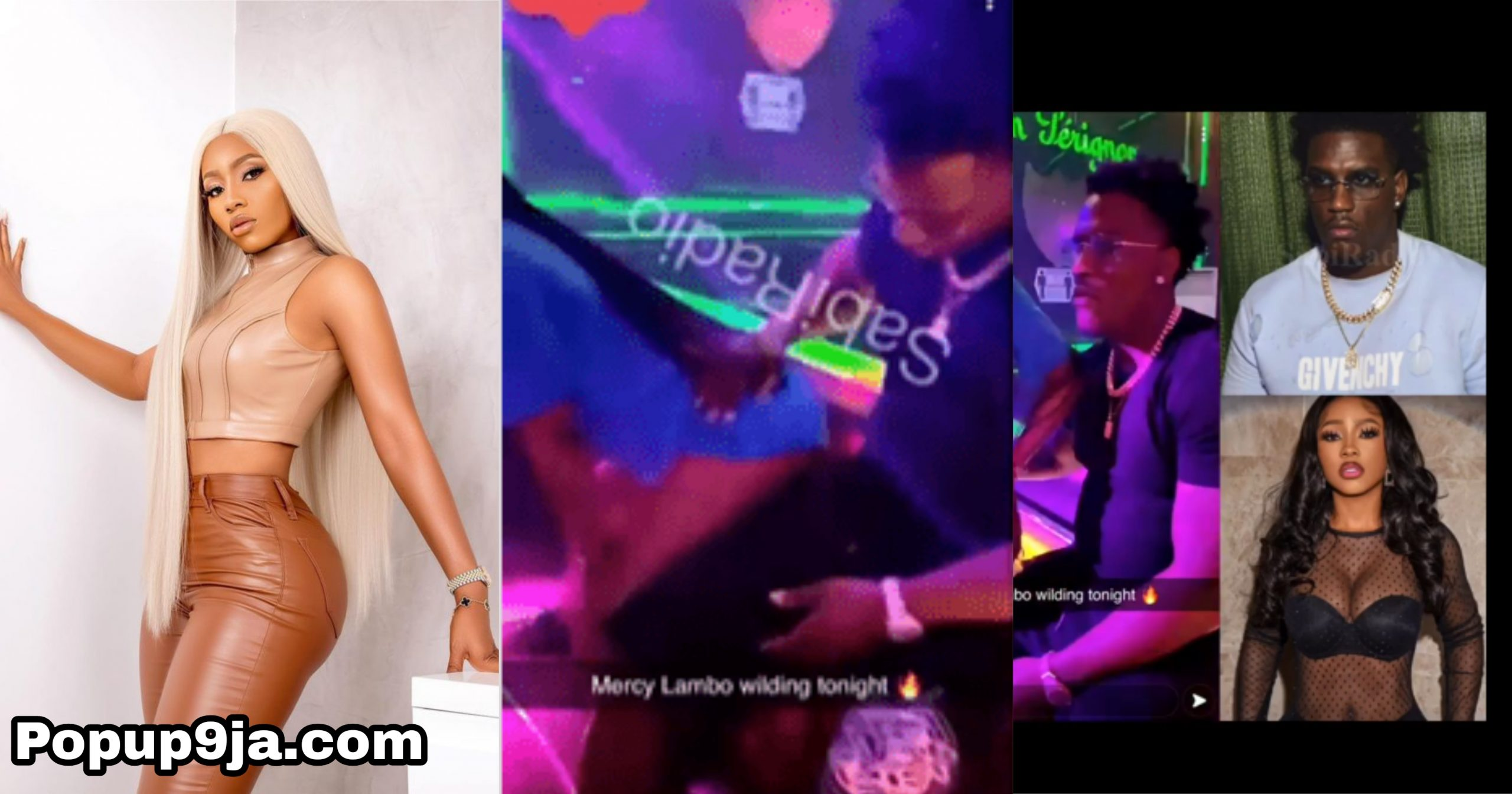 Mercy Eke spotted dancing 'freaky freaky' with new lover, aside Mr H (Video)
