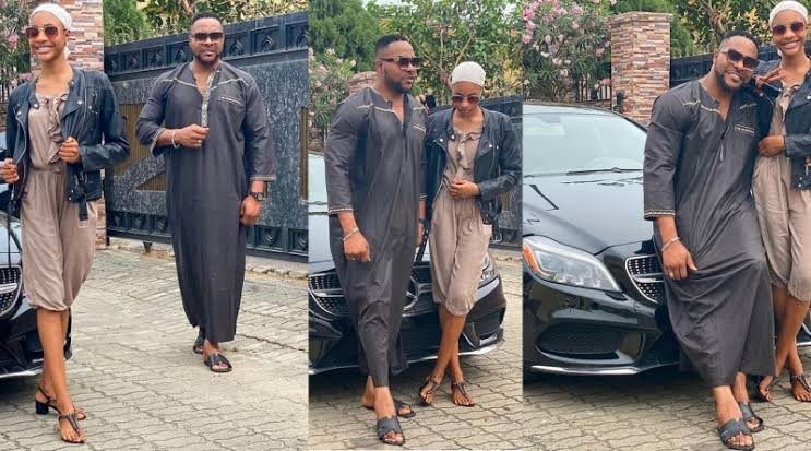 """All predators stay off"""" – Nollywood actor, Bolanle Ninalowo warns as he shares new photos with his 15-year old daughter"""